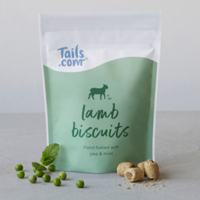 Lamb biscuits