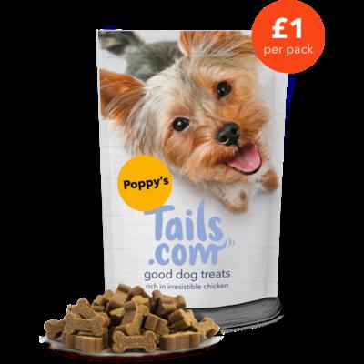 Poppy's good dog treats